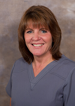 Dental assistant Cathy